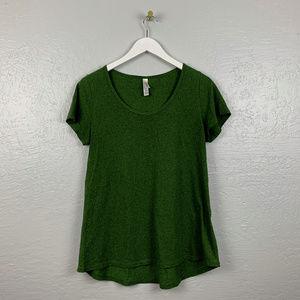 Lularoe Size M Classic T Forest Green Shirt